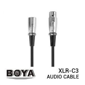jual Boya XLR-C3 Audio Cable XLR 3M harga murah surabaya jakarta