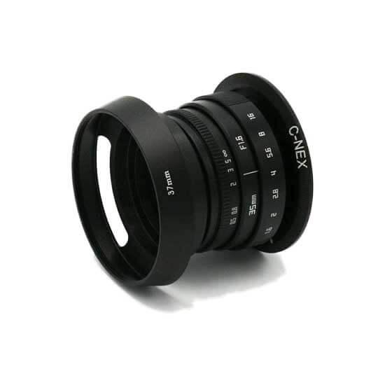 jual Fujian CCTV Lens Hood 37mm harga murah surabaya jakarta