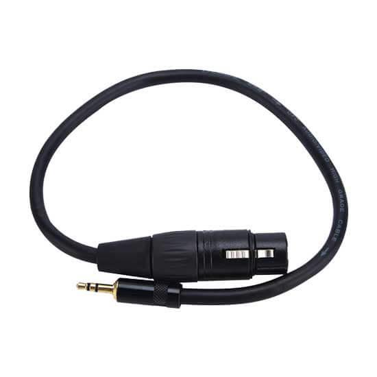 jual JJC Cable-XLR2MSM Cable Adapter 3.5mm TRS Male to XLR Female harga murah surabaya jakarta