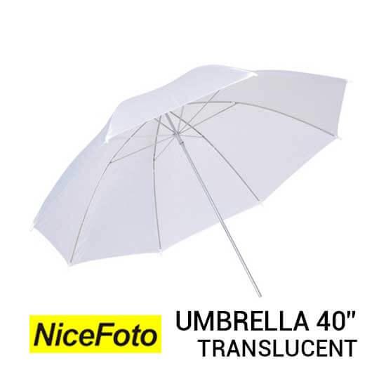 jual NiceFoto Umbrella Translucent 40 harga murah surabaya jakarta