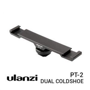jual Ulanzi PT-2 Dual Cold Shoe Extension Bracket harga murah surabaya jakarta