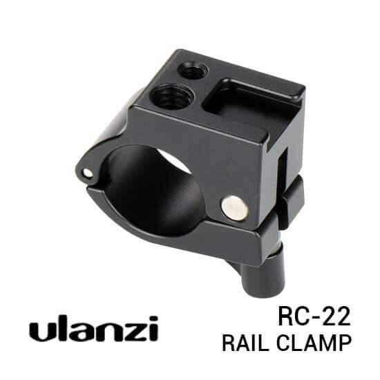 jual Ulanzi Rail Clamp Holder 22mm for Zhiyun harga murah surabaya jakarta