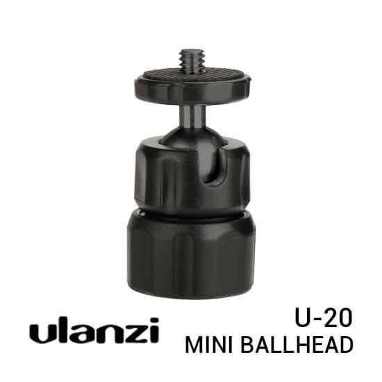 jual Ulanzi U-20 Mini Ball Head harga murah surabaya jakarta