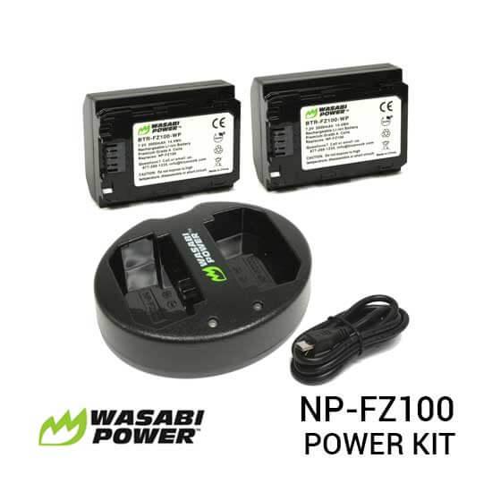 jual Wasabi Power Kit NP-FZ100 Dual Charger for Sony harga murah surabaya jakarta