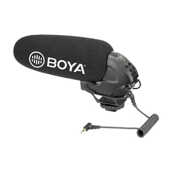jual mic Boya BY-BM3031 Super-cardioid Shotgun Microphone harga murah surabaya jakarta