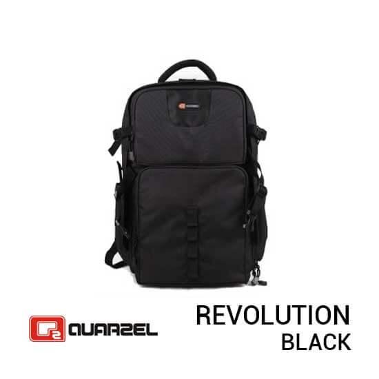 jual tas kamera Quarzel Revolution Black harga murah surabaya jakarta