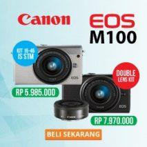 promo canon eos m100 toko kamera online plazakamera jakarta dan surabaya