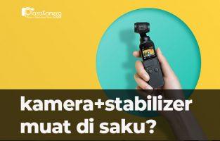 DJI Osmo Pocket, Stabilizer & Kamera yang Muat di Saku