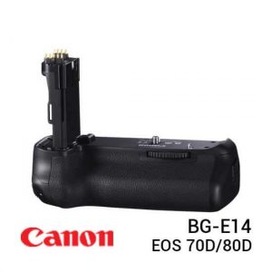jual Canon BG-E14 Battery Grip for EOS 70D/80D harga murah surabaya jakarta