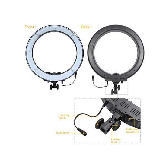 jual Fotoplus RL-18 Ring Light Bi-Color Combo Kit harga murah surabaya jakarta