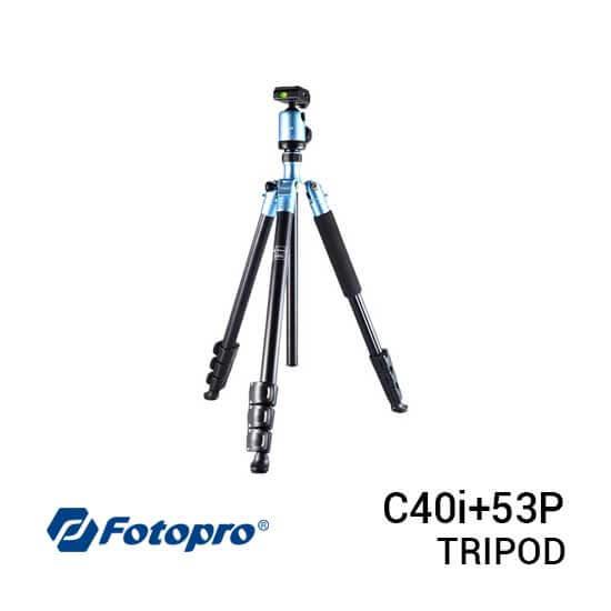 jual Fotopro Tripod C40i+53P Blue harga murah surabaya jakarta