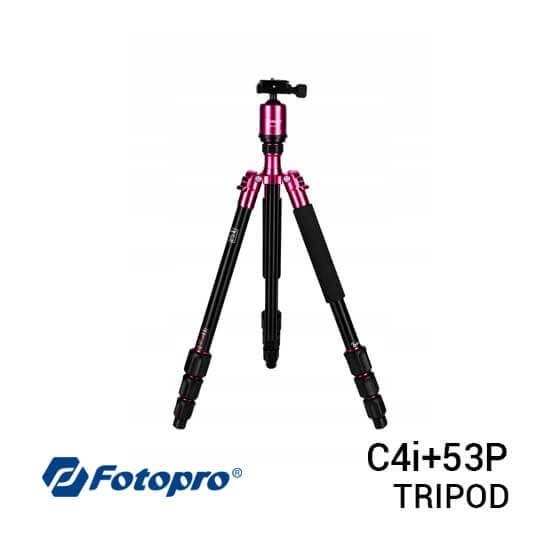 jual Fotopro Tripod C4i+53P Pink harga murah surabaya jakarta