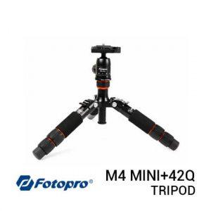 jual Fotopro Tripod M4 Mini+42Q Black harga murah surabaya jakarta