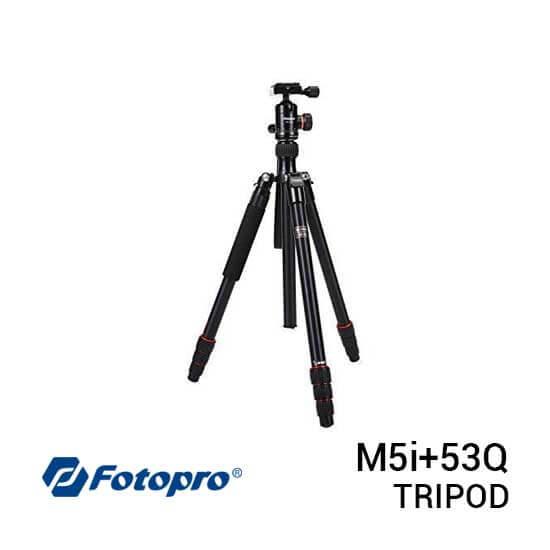 jual Fotopro Tripod M5i+53Q Black harga murah surabaya jakarta