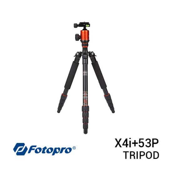 jual Fotopro Tripod X4i+53P Orange harga murah surabaya jakarta