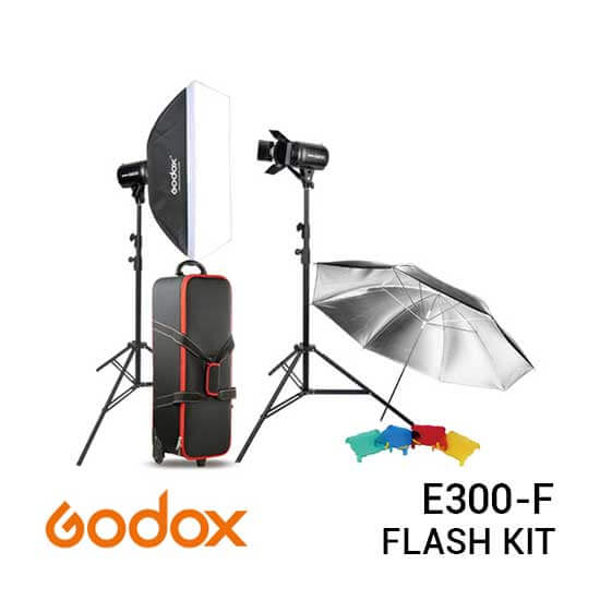 jual Godox E300-F Studio Flash Kit harga murah surabaya jakarta