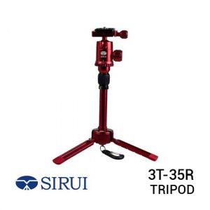 jual Sirui 3T-35R Red Table Top Tripod harga murah surabaya jakarta