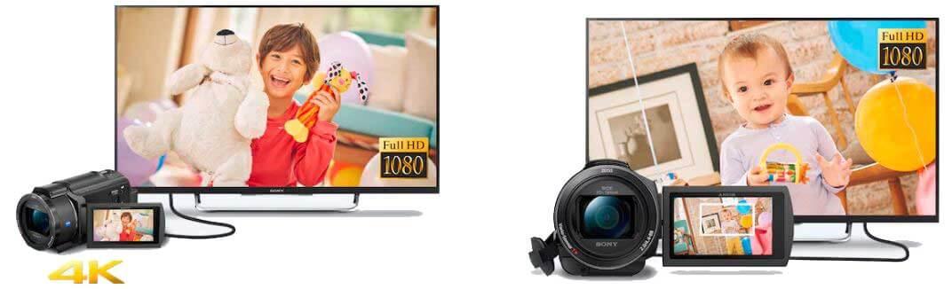 jual Sony FDR-AX40 Handycam harga murah surabaya jakarta