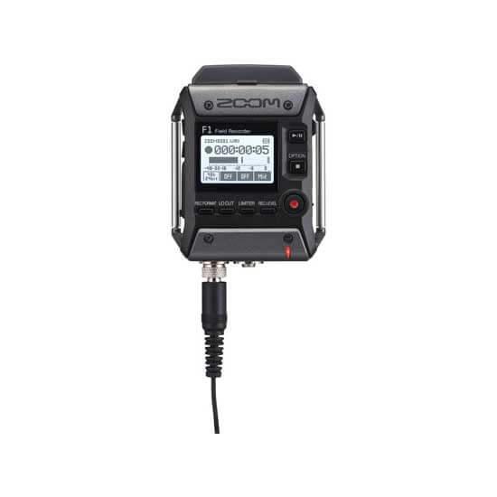 jual Zoom F1 Field Recorder with Lavalier Microphone harga murah surabaya jakarta