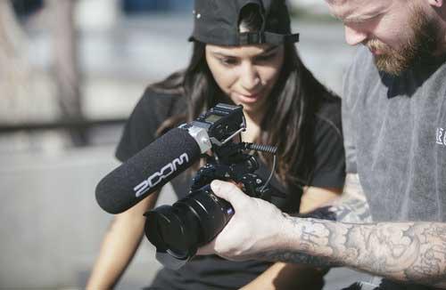 jual Zoom F1 Field Recorder with Shotgun Microphone harga murah surabaya jakarta
