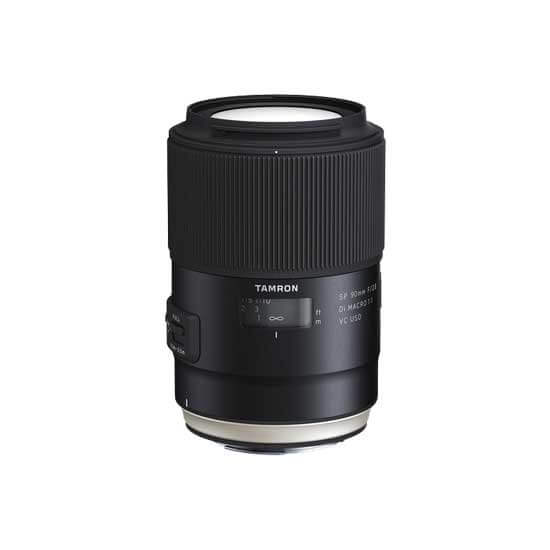 jual lensa Tamron New SP 90mm F2.8 Di Macro 1:1 VC USD w/hood For Canon [model F017] harga murah surabaya jakarta