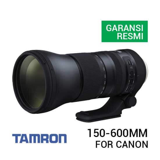 jual lensa Tamron SP 150-600mm F5-6.3 Di VC USD G2 For Canon [Model A022] harga murah surabaya jakarta