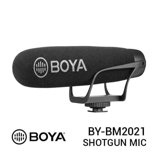 jual Boya BY-BM2021 Cardioid Shotgun Video Microphone harga murah surabaya jakarta
