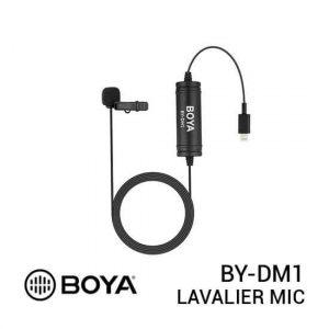 jual Boya BY-DM1 Digital Lavalier Microphone for iOS harga murah surabaya jakarta
