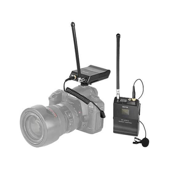 jual Boya BY-WFM12 VHF Wireless Microphone harga murah surabaya jakarta