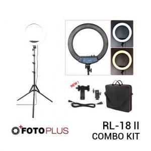 jual Fotoplus RL-18 Mark II Bi-Color Ring Light Combo Kit harga murah surabaya jakarta