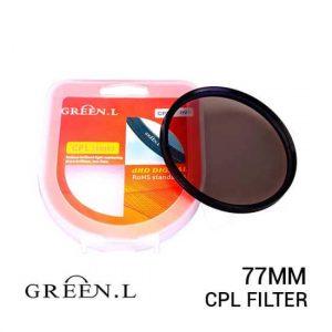 jual Green L Filter CPL 77mm harga murah surabaya jakarta