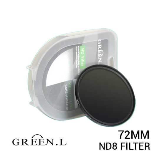 jual Green L Filter ND8 72mm harga murah surabaya jakarta
