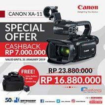 jual camcorder canon xa11 toko kamera online plazakamera surabaya dan jakarta