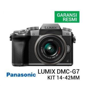 Jual Panasonic Lumix DMC-G7 Kit 14-42mm F3.5-5.6 OIS - Silver Harga Murah dan Spesifikasi