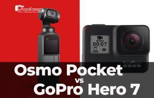 DJI Osmo Pocket vs GoPro Hero 7 Black. Mana yang Cocok untuk Kamu?