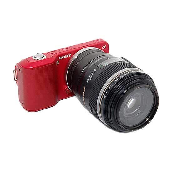 jual JJC EOS to E-Mount Lens Adapter harga murah surabaya jakarta