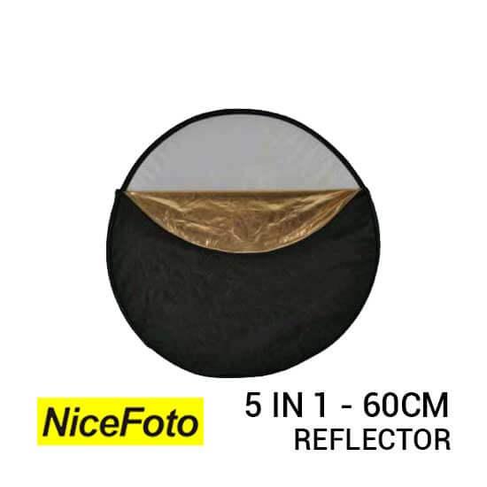 jual NiceFoto Reflector 5in1 60cm harga murah surabaya jakarta