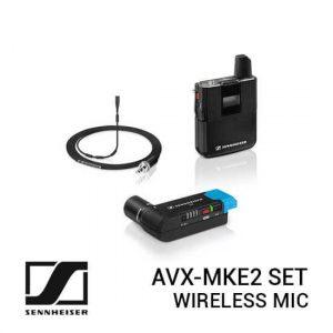 jual Sennheiser AVX-MKE2 Set Wireless Microphone harga murah surabaya jakarta