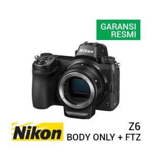 jual kamera mirrorless Nikon Z6 Kit Body Only + FTZ Adapter harga murah surabaya jakarta