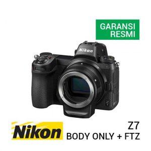 jual kamera mirrorless Nikon Z7 Kit Body Only + FTZ Adapter harga murah surabaya jakarta