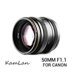 jual lensa Kamlan 50mm F1.1 Canon EOS-M harga murah surabaya jakarta