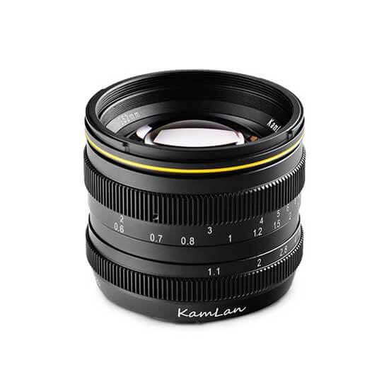 jual lensa Kamlan 50mm F1.1 Fujifilm X-Mount harga murah surabaya jakarta