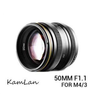 jual lensa Kamlan 50mm F1.1 M4/3 Mount harga murah surabaya jakarta
