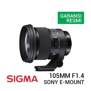 jual lensa Sigma 105mm F1.4 DG HSM Art Lens for Sony E harga murah surabaya jakarta