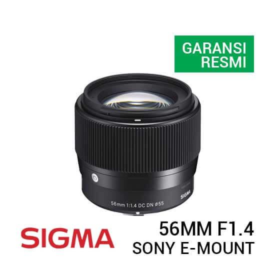 jual lensa Sigma 56mm F1.4 DC DN Contemporary Lens for Sony E harga murah surabaya jakarta