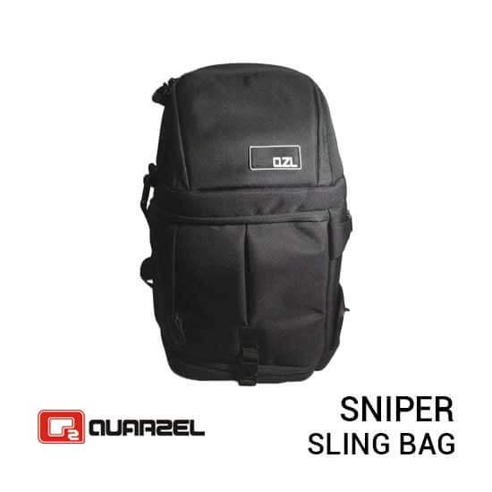 jual tas kamera Quarzel Sniper Black harga murah surabaya jakarta