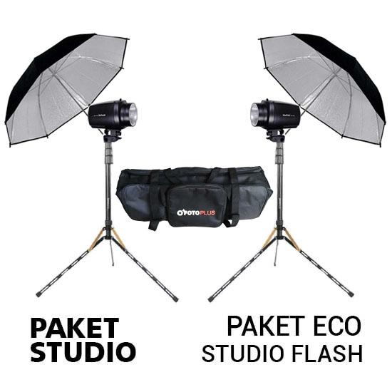 Jual Paket Eco NiceFoto Studio Flash new Harga Murah dan Spesifikasi