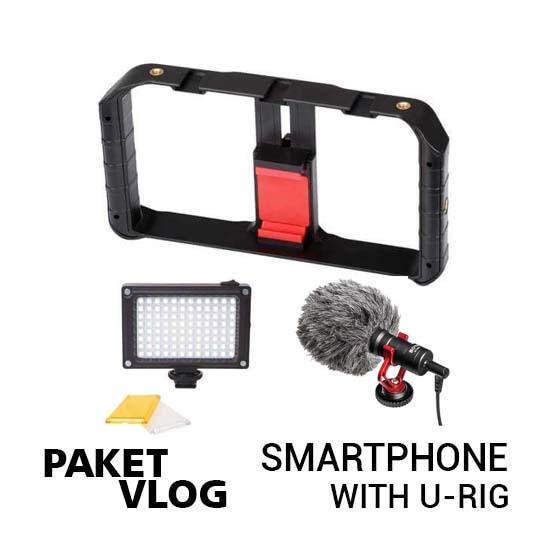 Paket Vlog Smartphone With U-Rig