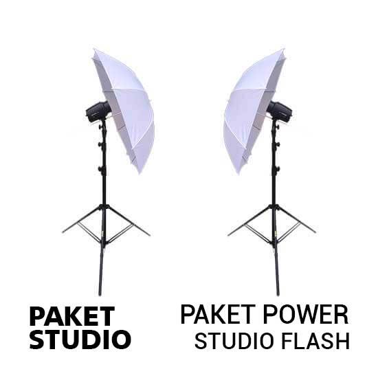 jual Paket Power NiceFoto Studio Flash harga murah surabaya jakarta