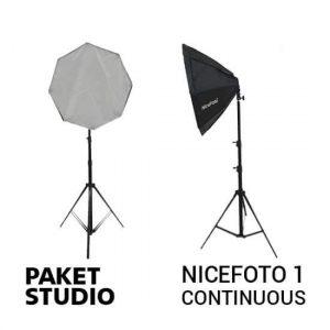 jual Paket Studio NiceFoto 1 Continuous Light harga murah surabaya jakarta